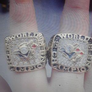 Toronto Blue Jays championship rings new rare sz 1